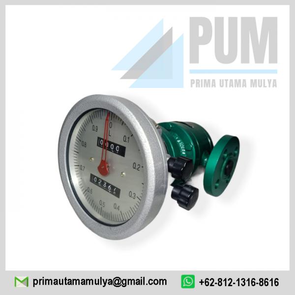 flow meter Oval Gear 3/4 Inch minyak
