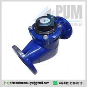 Water meter Calibrate Vertical Horizontal 3 inch (DN80) Type WS 80 merupakan meteran air yang sudah banyak digunakan oleh masyarakat Indonesia,